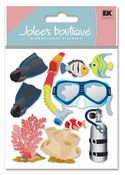 Snorkeling 3D  Stickers - Jolee's Boutique