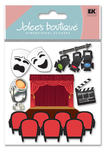 Drama 3D  Stickers - Jolee's Boutique