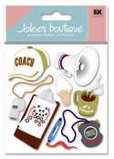 Coach 3D  Stickers - Jolee's Boutique
