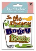Bogey 3D  Stickers - Jolee's Boutique