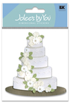Wedding Cake Sticker - Jolee's By You
