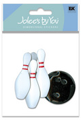 Bowling 3D Stickers - Jolee's By You