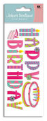 Happy Birthday 3D Title  Stickers - Jolee's Boutique
