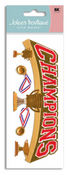 Sports Champions 3D Title  Stickers - Jolee's Boutique