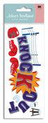 Boxing Knockout 3D Title  Stickers - Jolee's Boutique