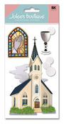 Catholic Church 3D  Stickers - Jolee's Boutique