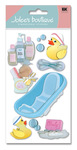 Bathtime 3D  Stickers - Jolee's Boutique