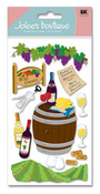 Wine Country 3D  Stickers - Jolee's Boutique
