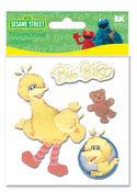 Big Bird Furry Stickers