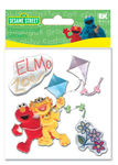 Elmo & Zoe Furry Stickers
