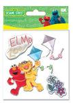 Elmo & Zoe Furry Stickers