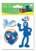 Grover Furry Stickers