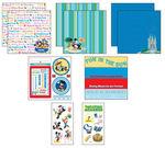 Mickey Vacation Page Kit 8x8