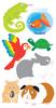 Small Pets Lg. Stickers - Sandylion