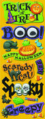 Halloween Adhesive Chipboard Stickers