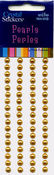 Gold Pearls Round Strips 5mm