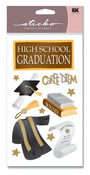 High School Graduate Sticko Stickers