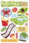 Backyard Fun Sticker - Karen Foster