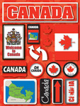 Canada Jet Setters Stickers