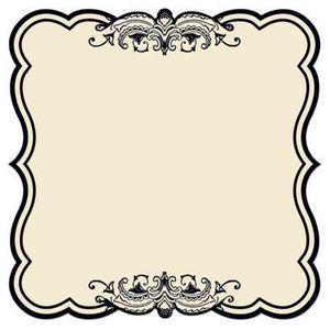 Antique Cream Label 12x12 Paper - Creative Imaginations
