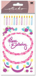 Decorate Your Cake Glitter Sticko Stickers