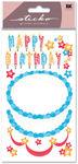 Decorate Your Cake 2 Glitter Sticko Stickers
