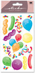 Party Balloons Metallic Sticko Stickers