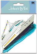 Cruise Ship 3-D Stickers - Jolee's By You