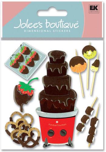Chocolate Fondue 3D  Stickers - Jolee's Boutique