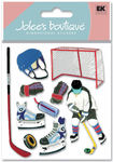Hockey 3D  Stickers - Jolee's Boutique