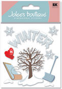 Winter 3D  Stickers - Jolee's Boutique