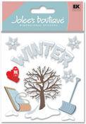 Winter 3D  Stickers - Jolee's Boutique