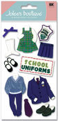 Uniforms 3D  Stickers - Jolee's Boutique