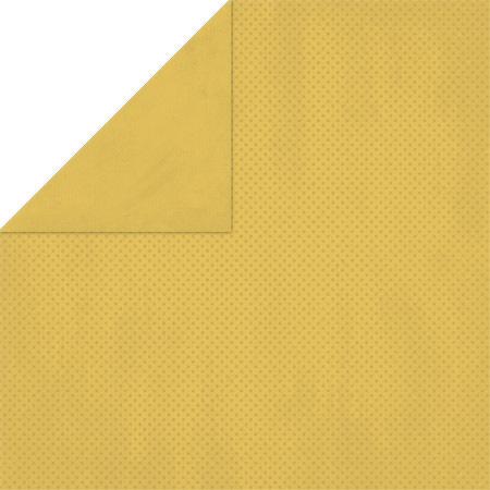 Honey MustardDouble Dot Cardstock - Bo Bunny