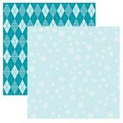 Frosty Snow 12x12 Paper - Reminisce