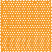 Orange Dots w/ Zig Zag Edge Die-Cut by Little Yellow Bicycle
