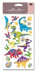 Dinosaur Metallic Sticko Stickers