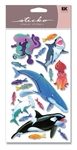 Sharks, Whales & Octupus Sticko Stickers