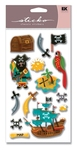 Pirates Sticko Dimensional Stickers