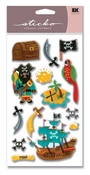 Pirates Sticko Dimensional Stickers