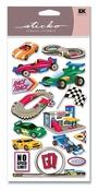 Race Track Sticko Stickers