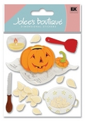 Pumpkin Carving 3D  Stickers - Jolee's Boutique