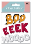 Scary Noises 3D  Stickers - Jolee's Boutique