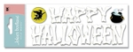 Happy Halloween Title 3D  Stickers - Jolee's Boutique