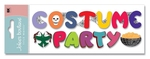 Costume Party Title 3D  Stickers - Jolee's Boutique