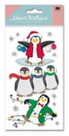 Penguins 3D Stickers - Jolee's Boutique
