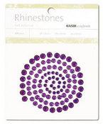 Dk Purple Rhinestones