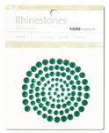 Dk Green Rhinestones