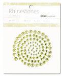 Lime/Yellow Rhinestones