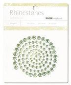 Mint Green Rhinestones